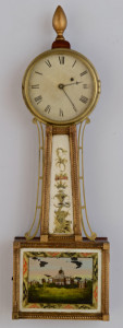 Lot 283: Federal Banjo Clock