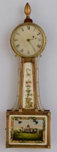 Lot 283: Federal Banjo Clock