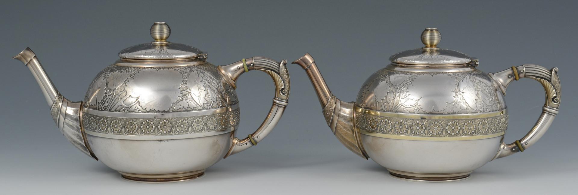 Lot 28: Wood & Hughes Aesthetic Tea Set