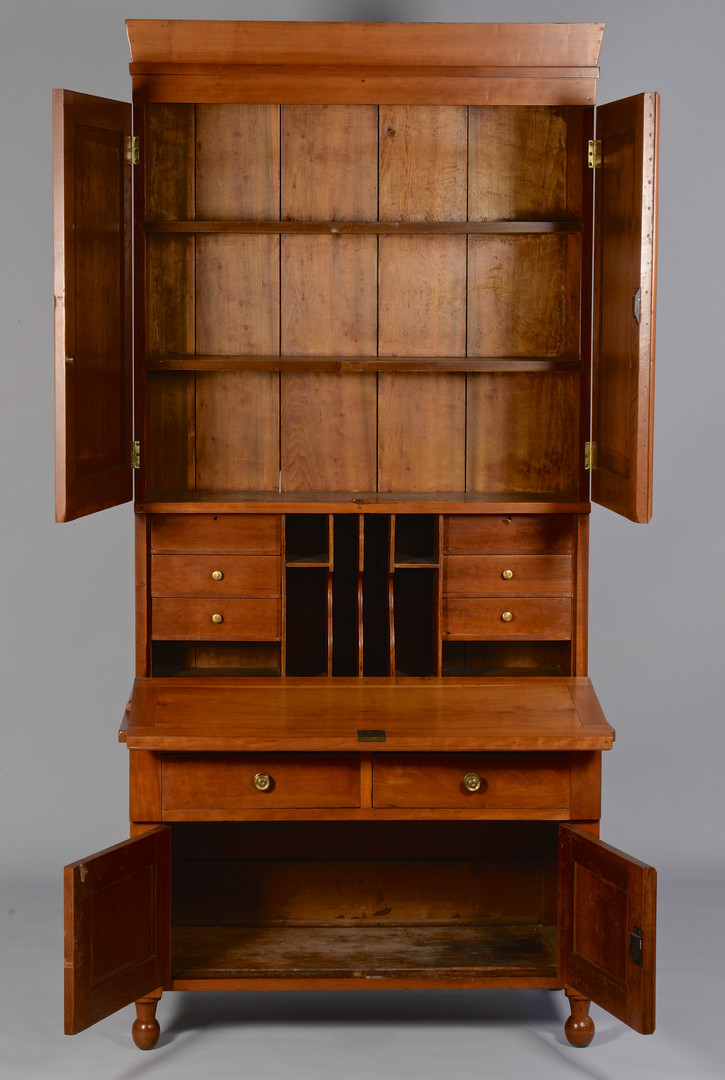 Lot 294: TN Cherry Secretary c.1840