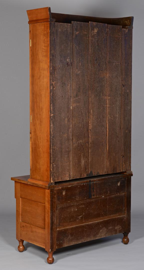 Lot 294: TN Cherry Secretary c.1840