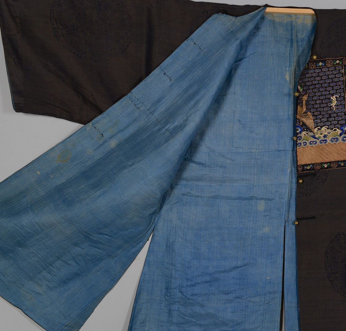 Lot 2: Qing Civil Officer's Surcoat & Leggings