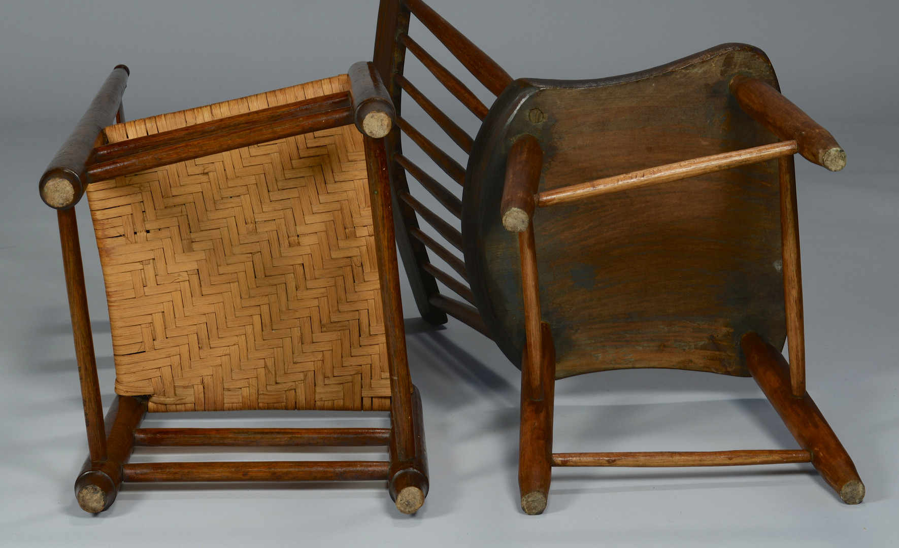 Lot 300: 2 East TN Chairs & 1 East TN Table