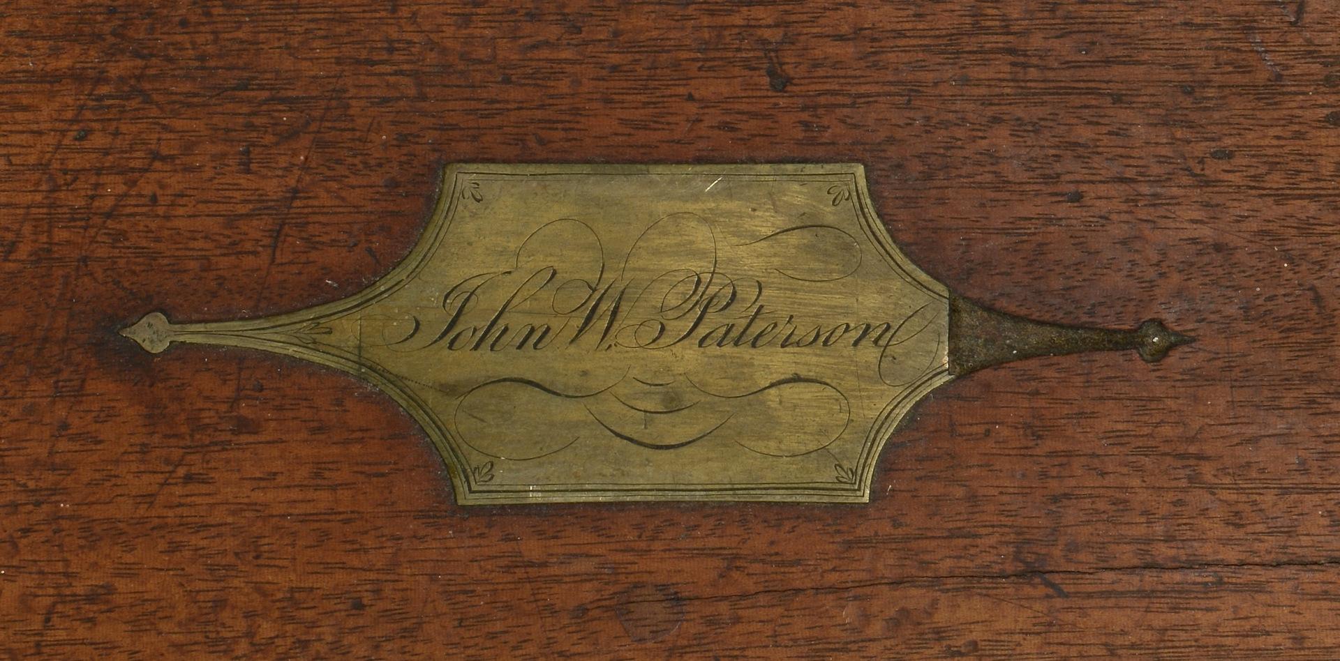 Lot 307: English Lap Desk & Box, 19th c.