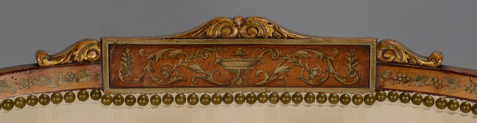 Lot 311: Louis XVI Style Settee