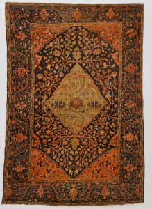 Lot 312: Antique Farahan Sarouk rug