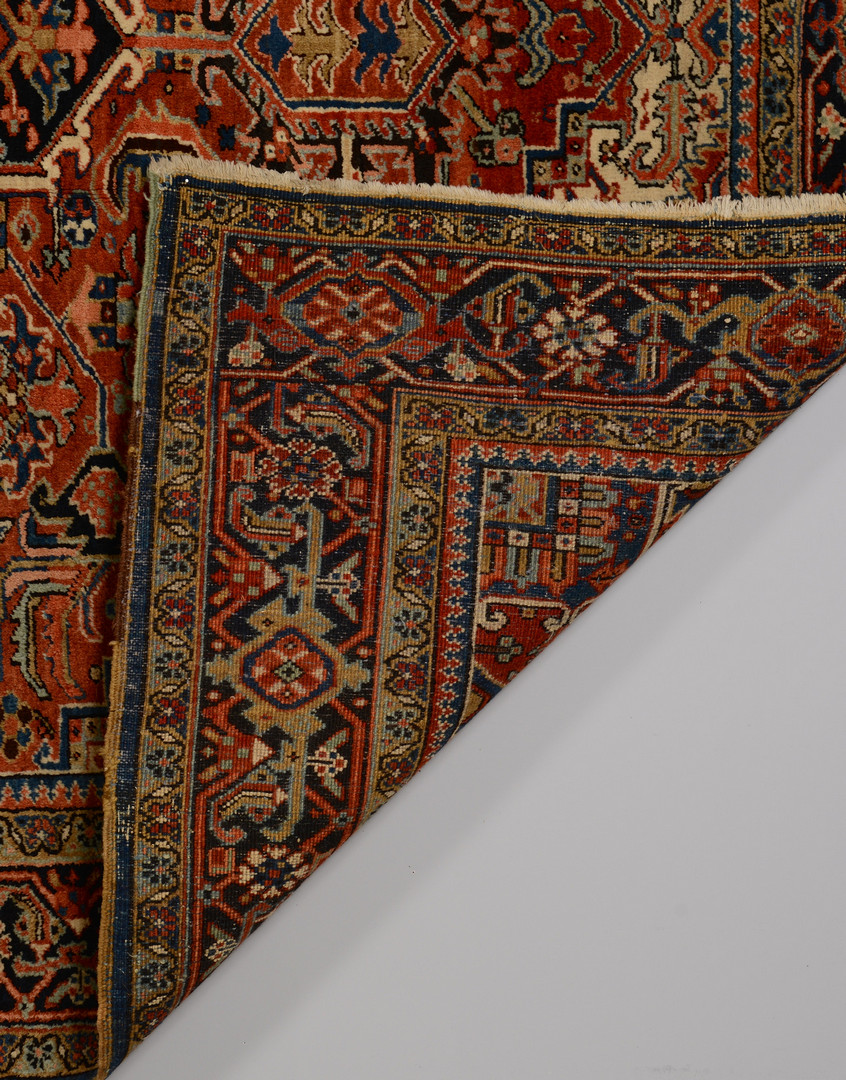 Lot 313: Heriz Carpet, semi-antique