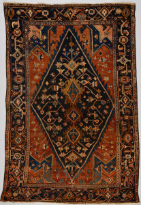 Lot 315: Hamadan carpet, circa 1930