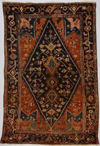 Lot 315: Hamadan carpet, circa 1930
