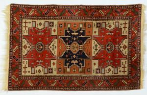 "Lot 316: Caucasian Shirvan Rug, 6' 2"" x 4'"