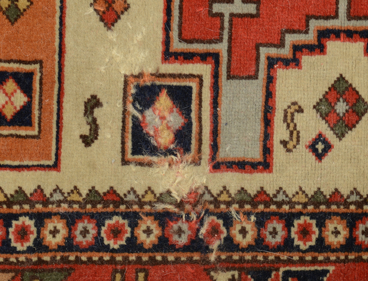 "Lot 316: Caucasian Shirvan Rug, 6' 2"" x 4'"