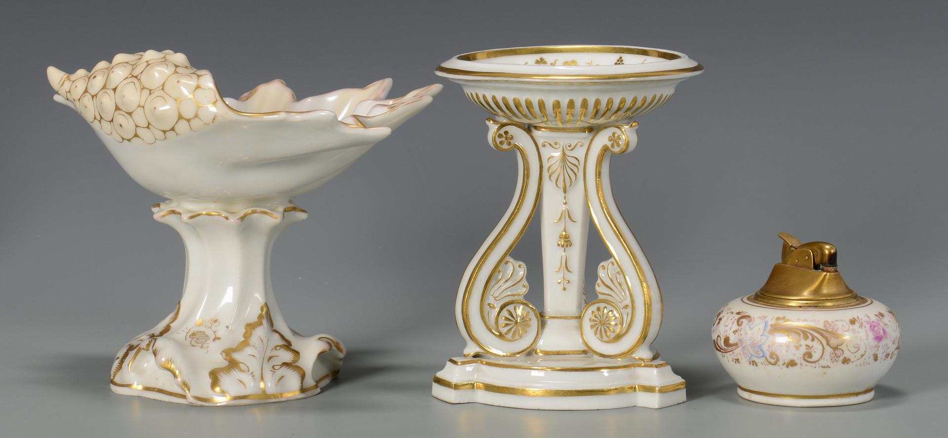 Lot 327: 5 pcs Porcelain inc. KPM