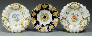 Lot 331: 3 Meissen Chargers