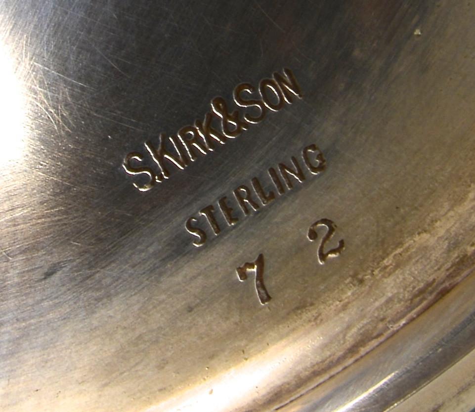 Lot 35: Set of 12 Kirk Sterling Goblets + 1