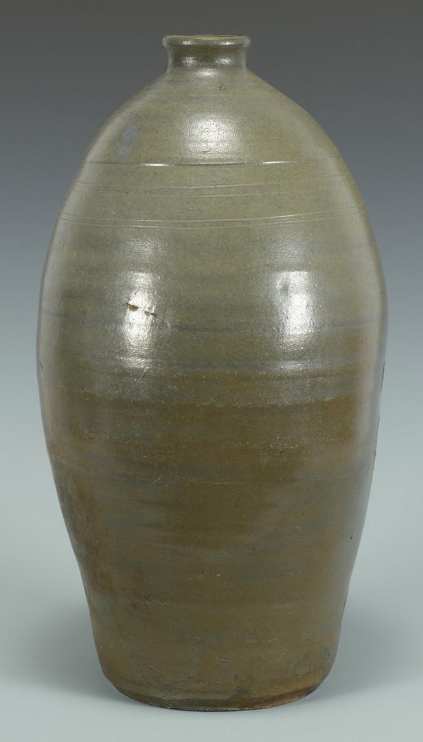 Lot 360: Large Middle TN Stoneware Pottery Jug