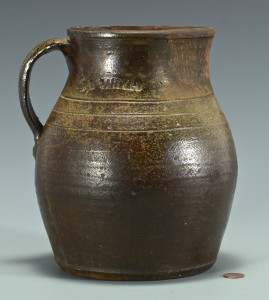 Lot 364: East TN Pitcher, D. L. Smith