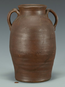 Lot 365: East TN Stoneware Jar, I. Smith