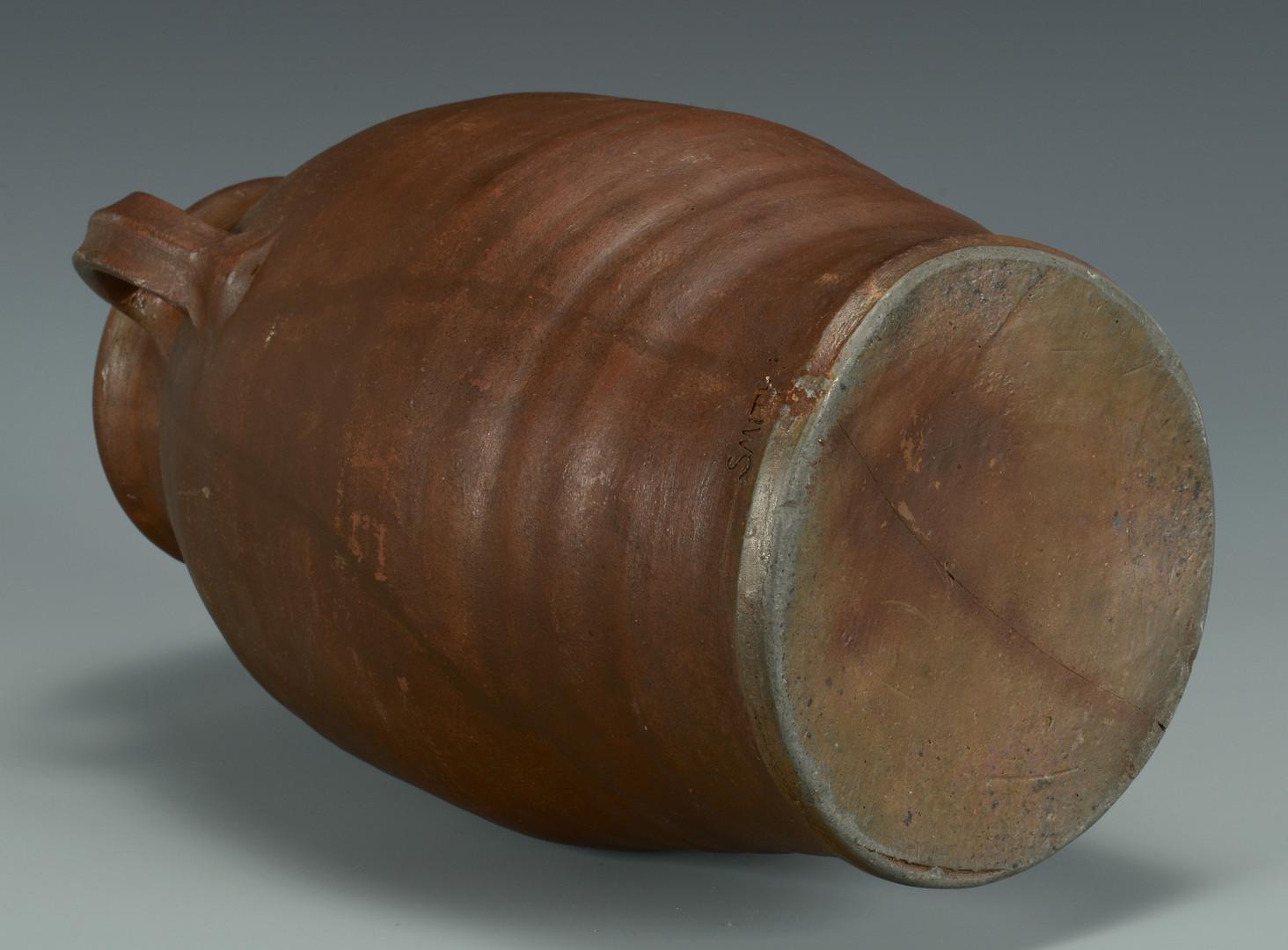 Lot 365: East TN Stoneware Jar, I. Smith