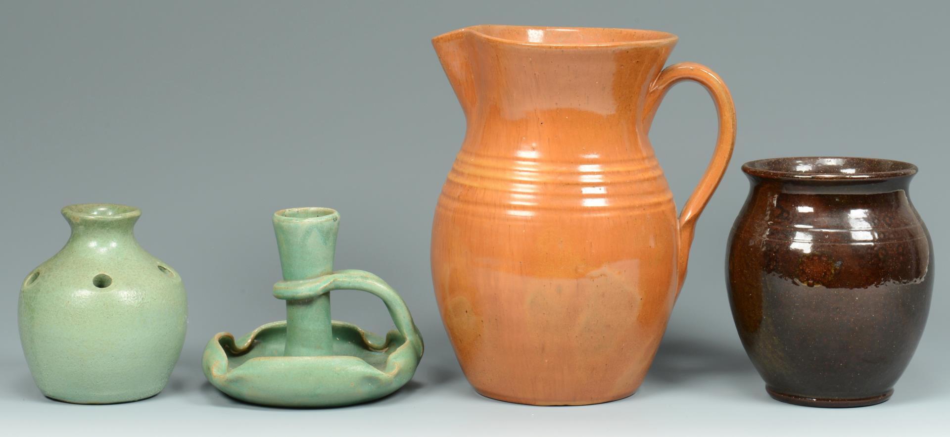 Lot 367: Group of NC Art Pottery, 8 pcs.