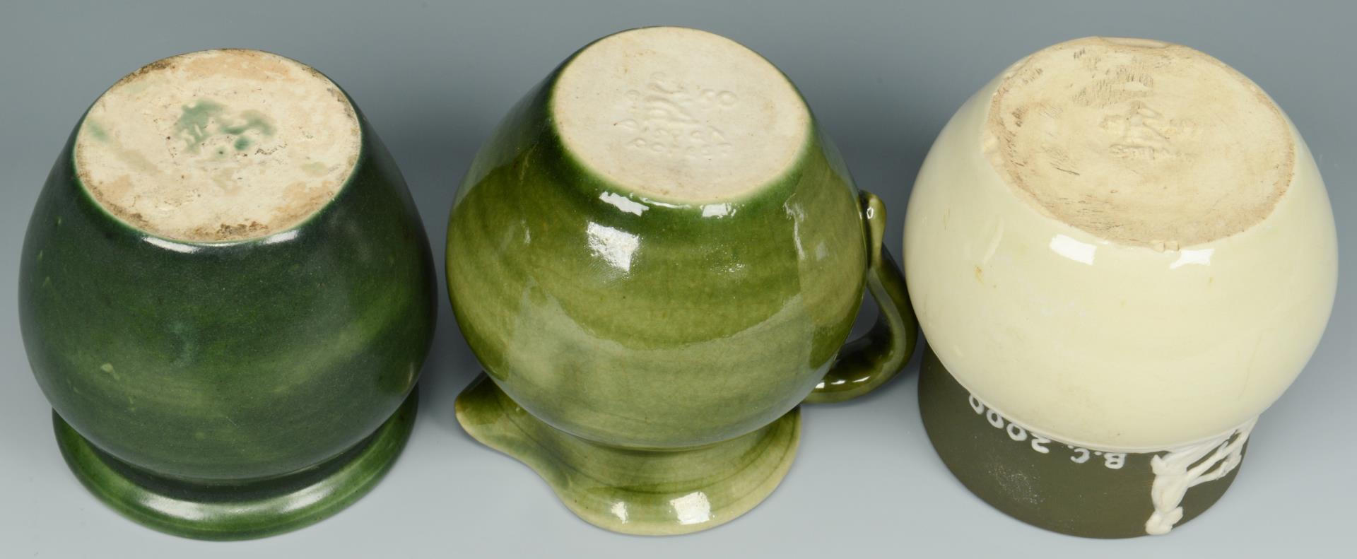 Lot 368: Group of Pisgah Forest Pottery, 11 pcs.