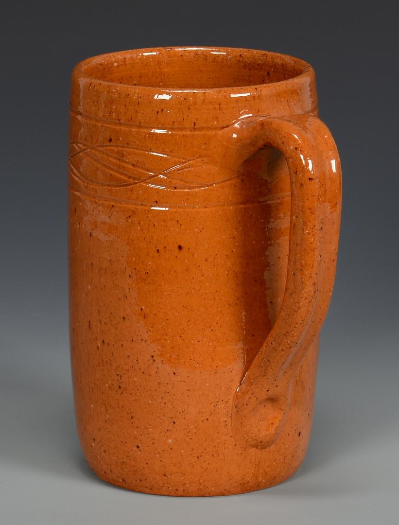 Lot 369: Jugtown NC Sine Wave Pottery, Vernon Owens