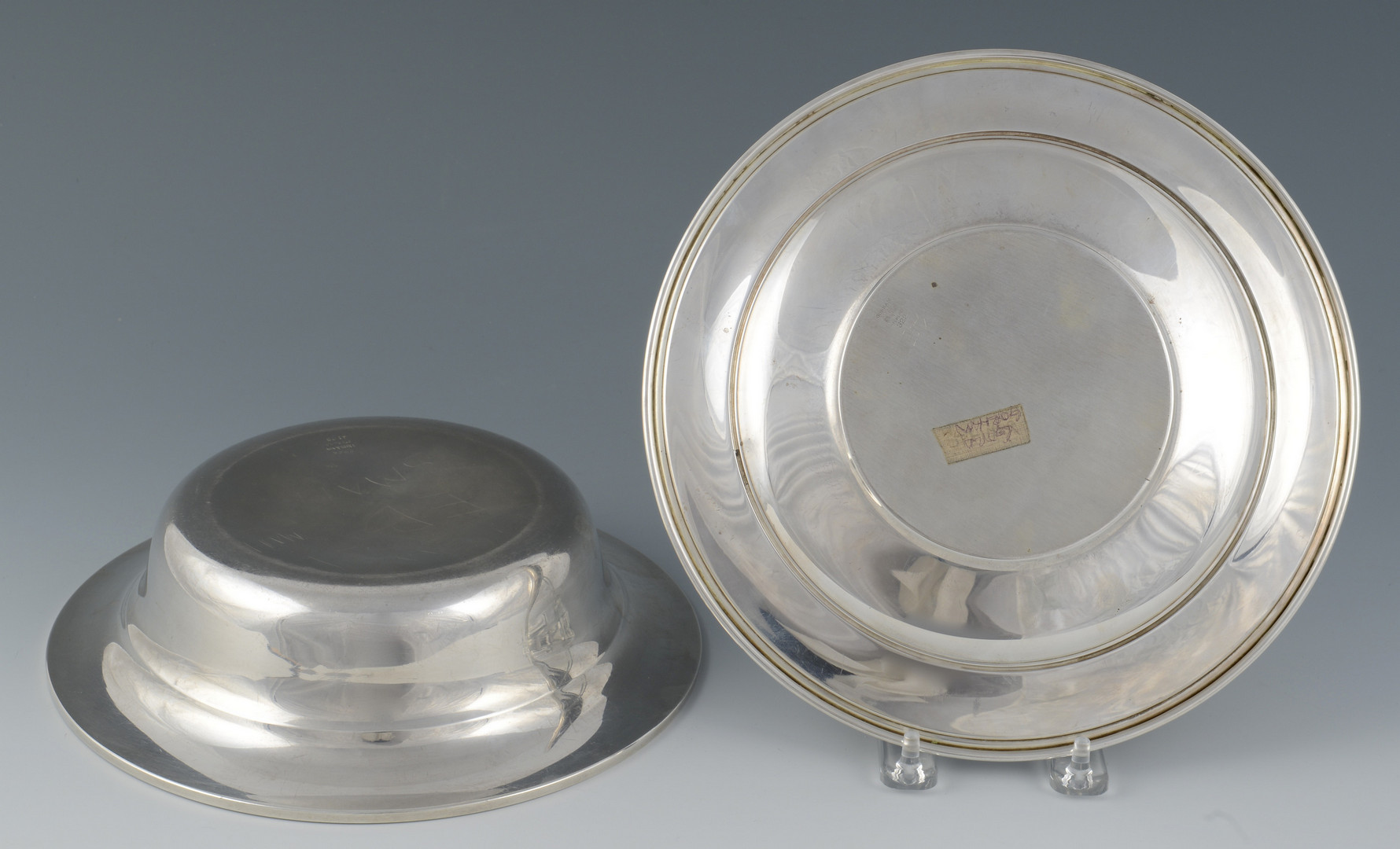 Lot 36: 2 pcs Sterling Silver Hollowware