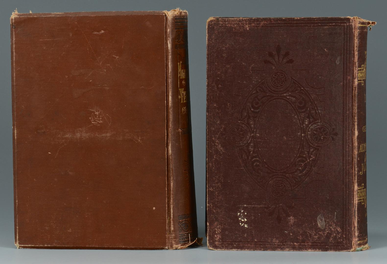 Lot 376: 2 Military Books, Lindsley & Preston