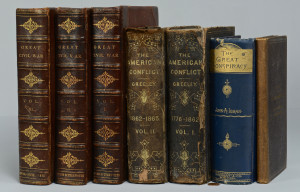 Lot 377: 7 Civil War Books