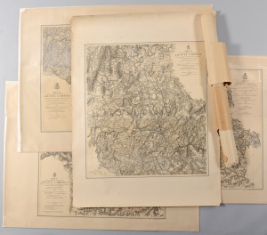 Lot 380: Atlanta Civil War Campaign Maps