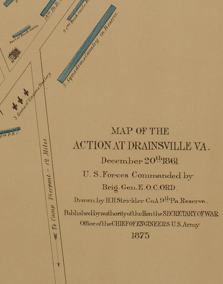 Lot 383: 3 Virginia Civil War Maps