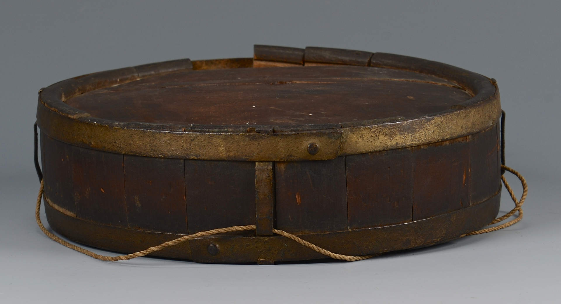 Lot 387: Painted Confederate Canteen
