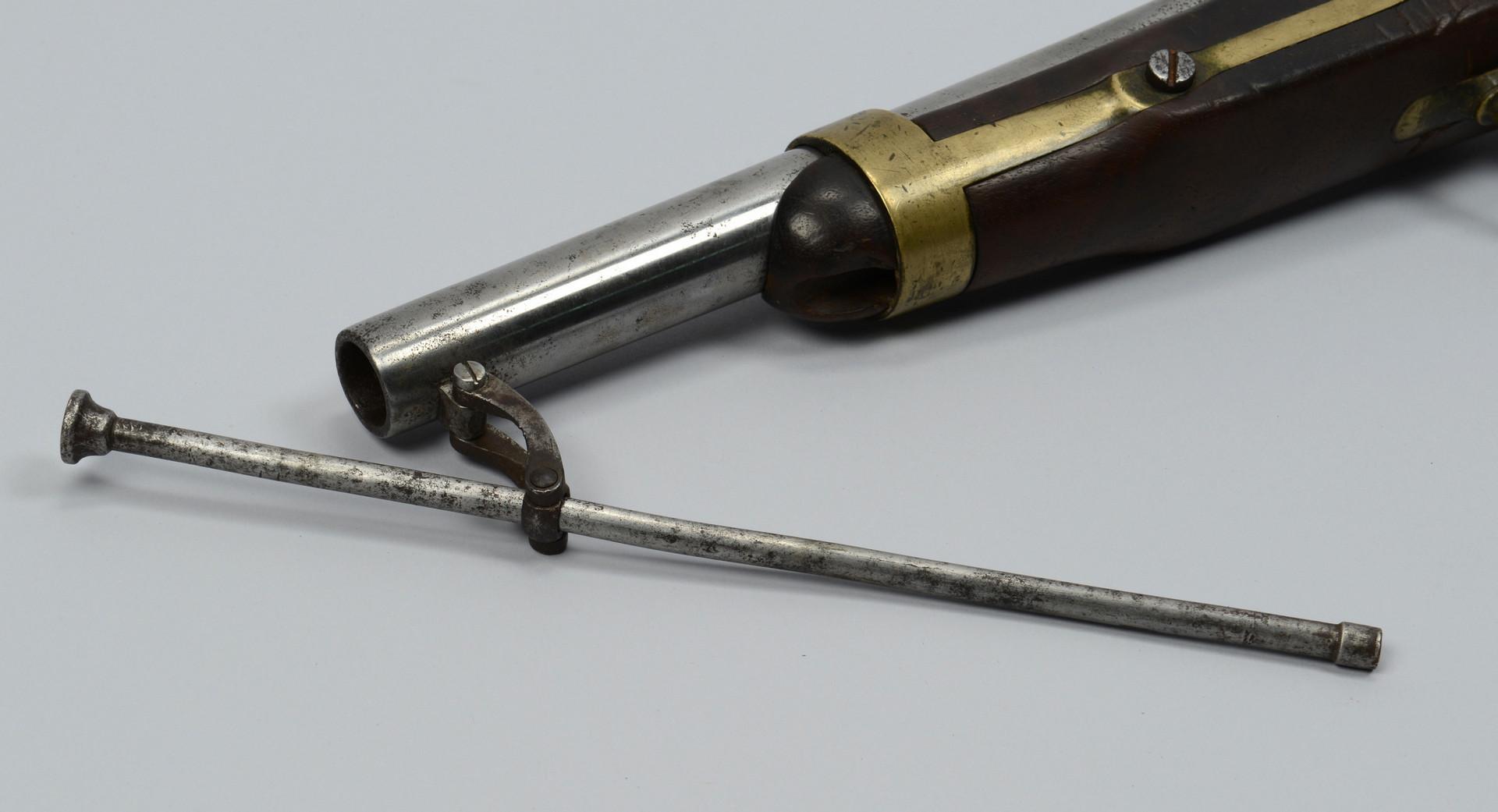 Lot 388: U.S. H. Aston 1842 Percussion Pistol
