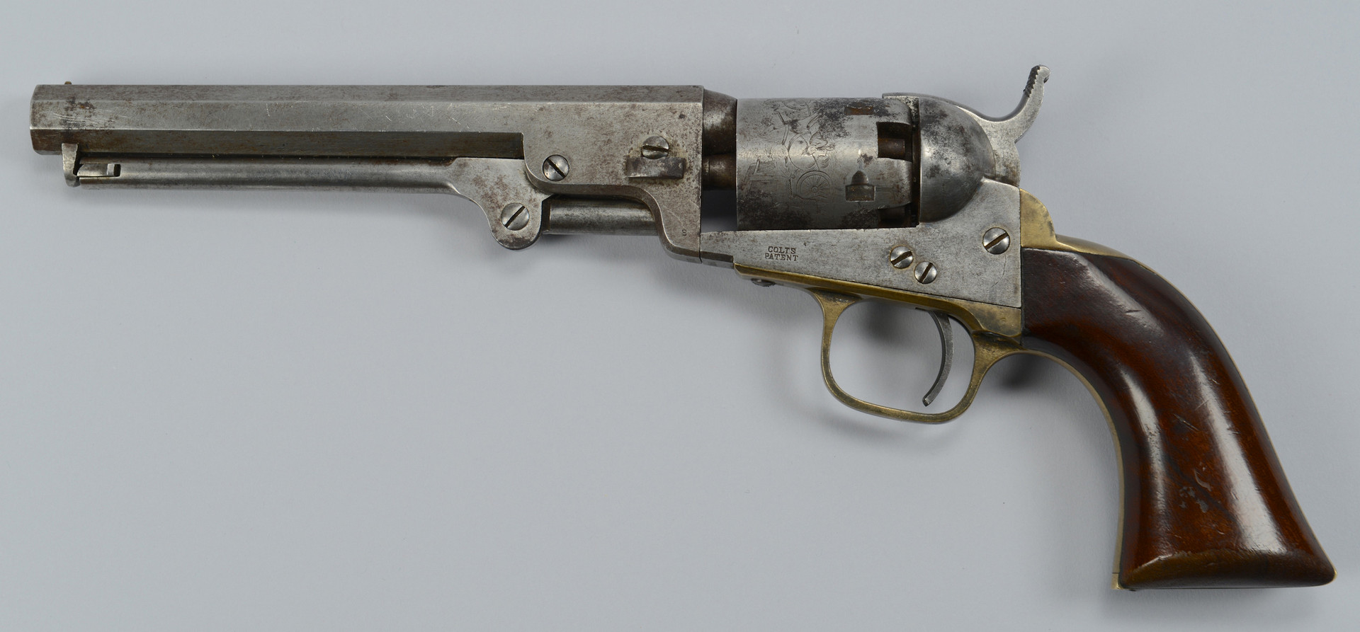 Lot 389: Colt Model 1849 Pocket Revolver, 1859