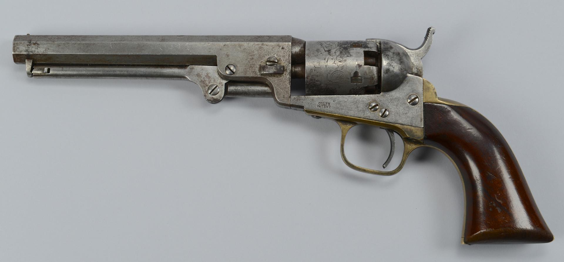 Lot 389: Colt Model 1849 Pocket Revolver, 1859