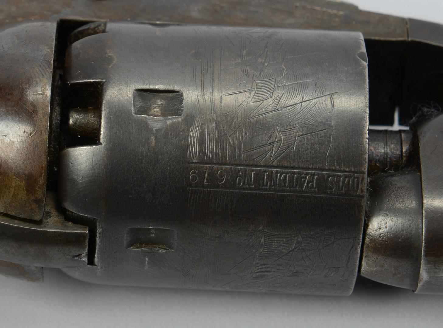Lot 390: Colt Model 1861 Navy Revolver, 1867