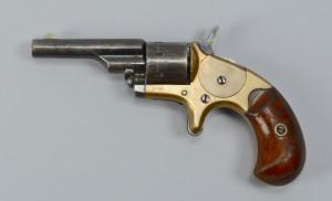 Lot 391: Colt Open top Pocket Model Revolver .22 cal