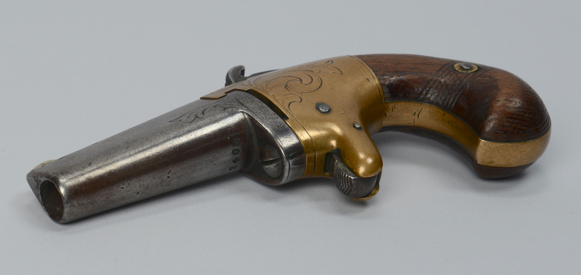Lot 393: National Arms Co. No. 2 Deringer Pistol