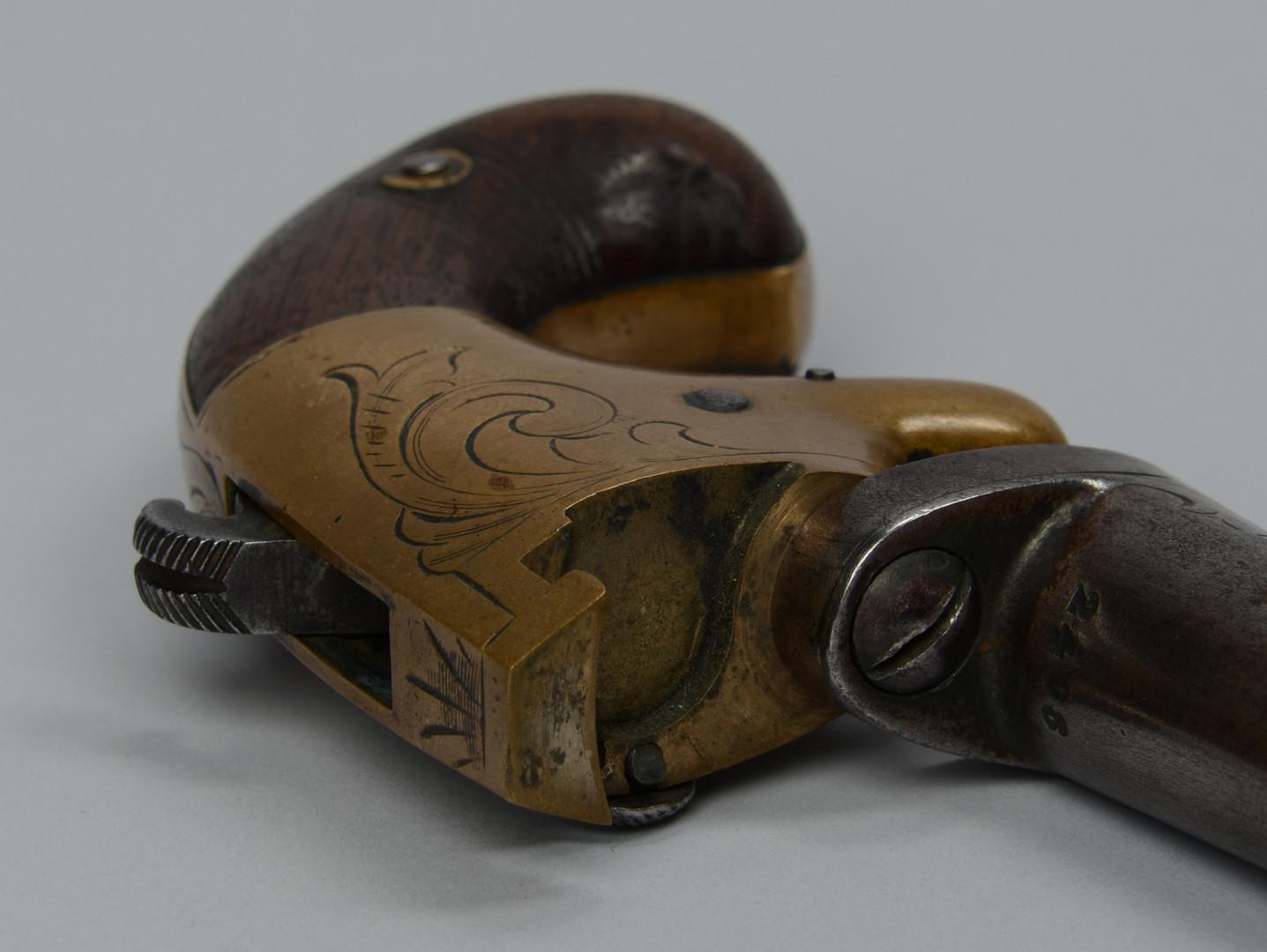 Lot 393: National Arms Co. No. 2 Deringer Pistol