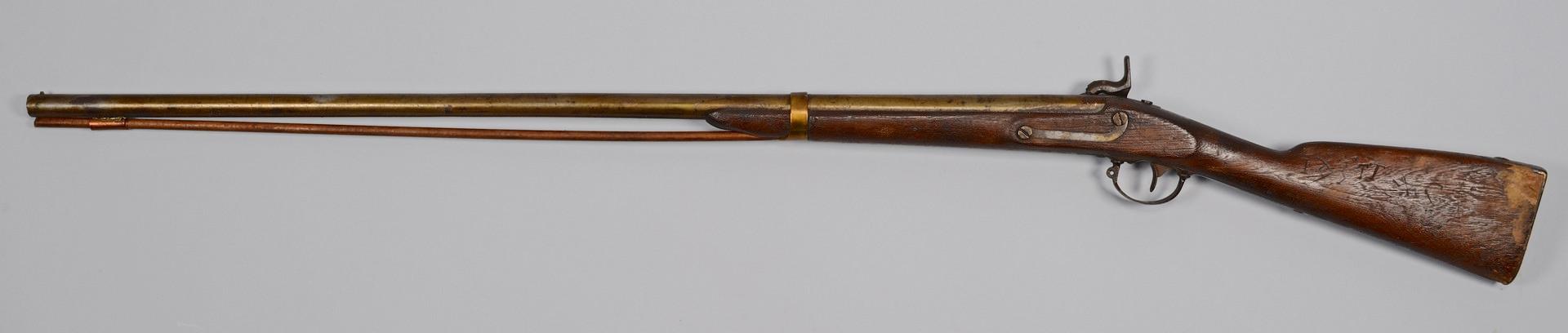 Lot 395: 1842 Model Palmetto Armory Musket, Modified