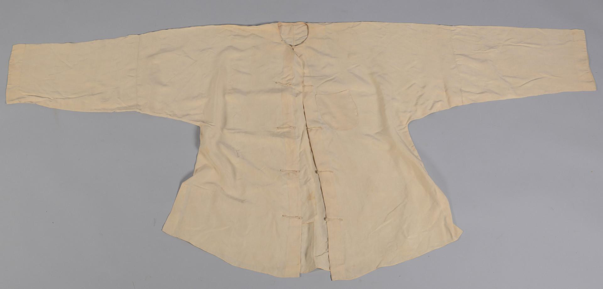 Lot 3: Qing Silk Robe w/ Undergarments