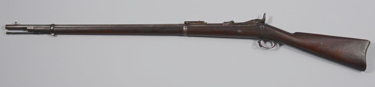 Lot 400: U.S. Springfield Armory 1884 Trapdoor Rifle