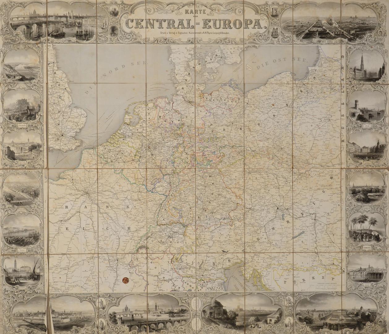 Lot 405: 19th/20th c. German Maps, 16 total