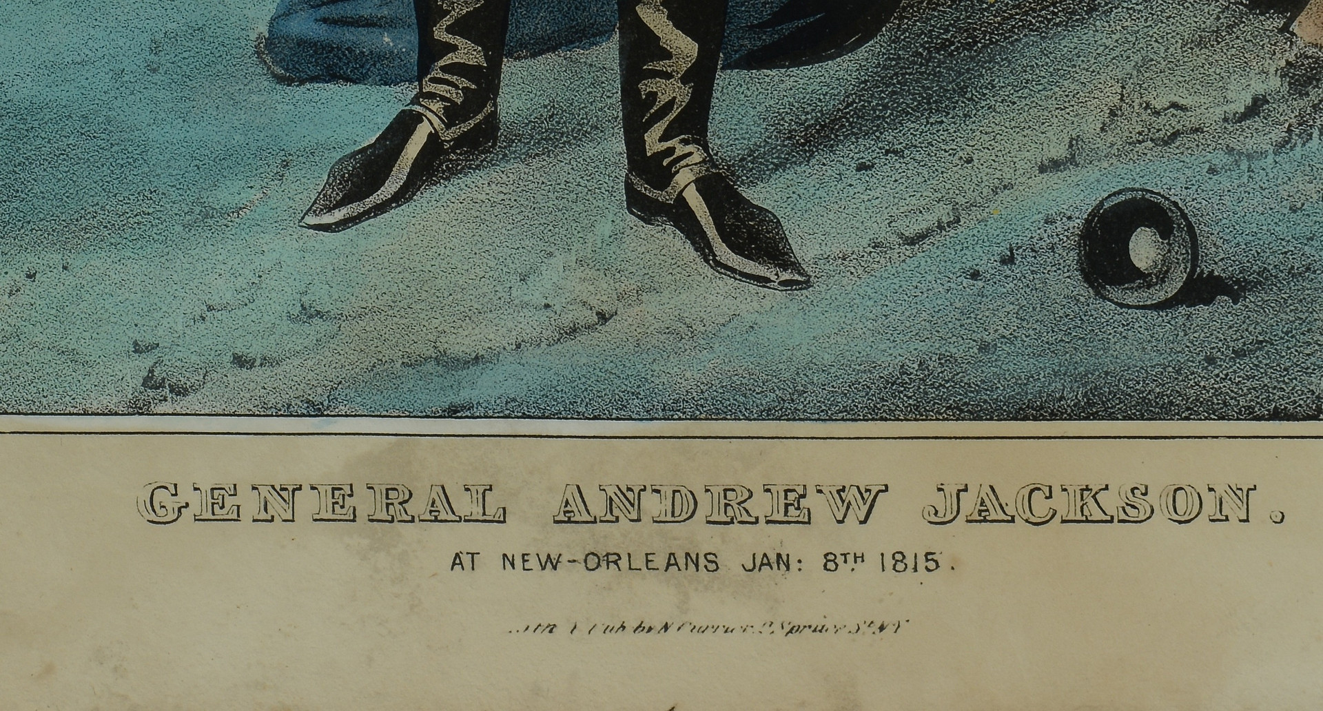 Lot 407: Andrew Jackson Signature, Prints, 7 items