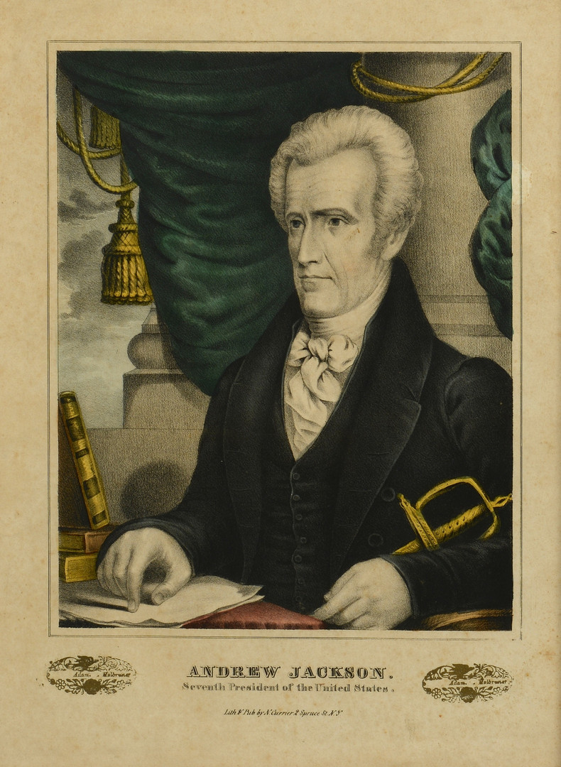 andrew jackson portrayed both states rightist and national Was andrew jackson a states' rightist andrew jackson could be described as both a rightist and andrew jackson sought for the national government to have.