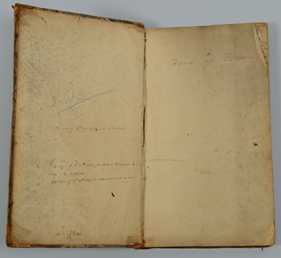 Lot 415: East TN Deed Book, 1812 – 1815