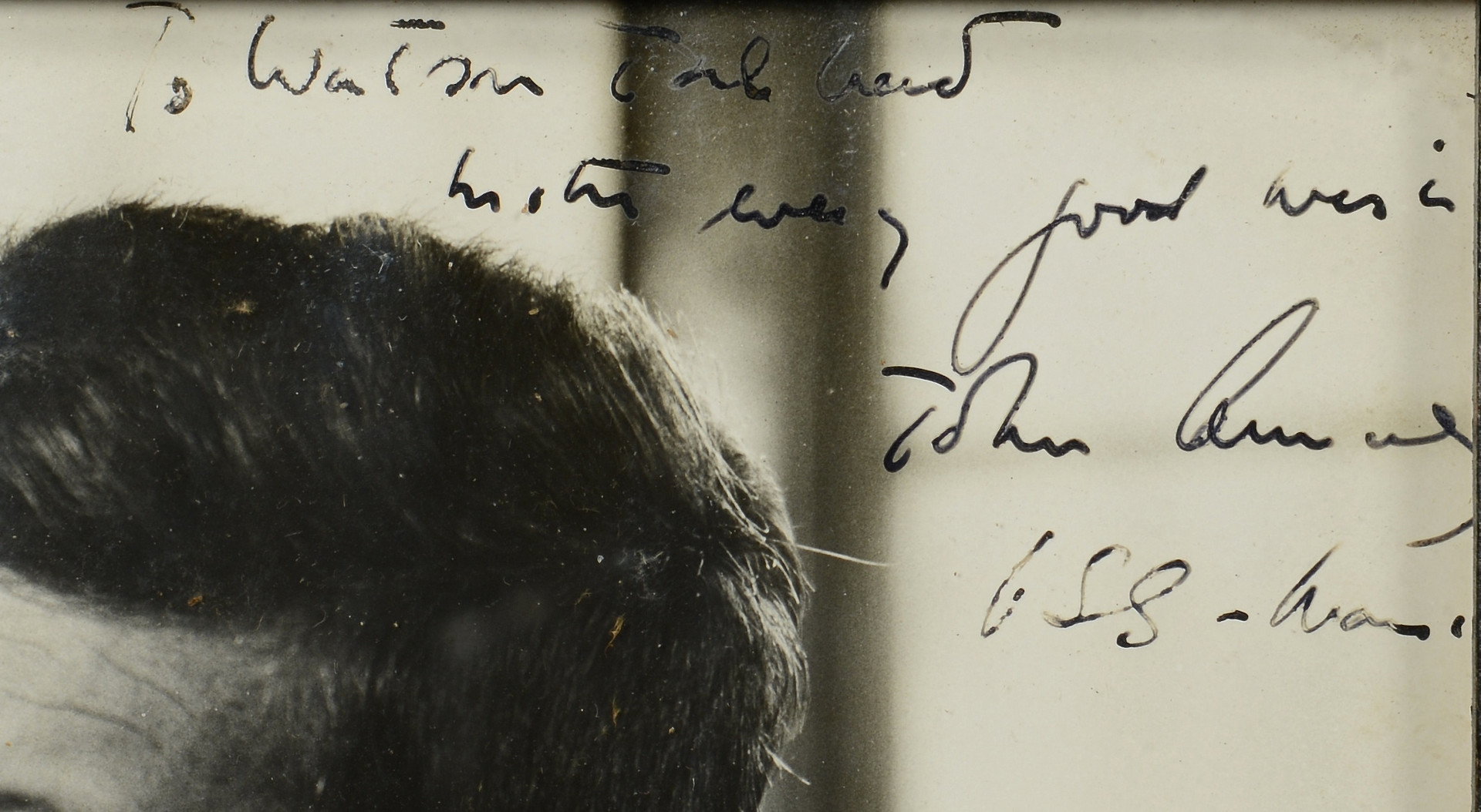 Lot 417: J. F. Kennedy Signed Photo