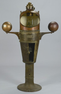 Lot 422: Compensating Navy Ship Binnacle