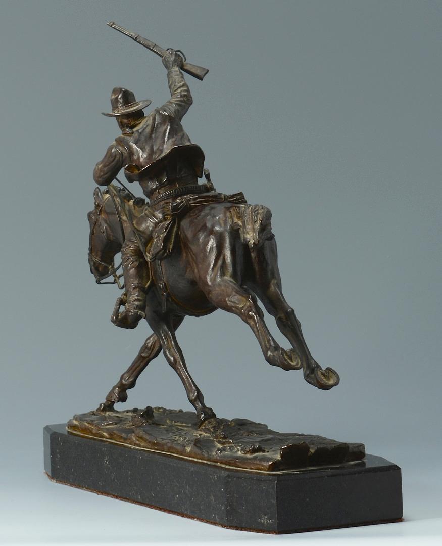 Lot 427: Harry Jackson Bronze, The Marshall III