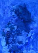 Lot 433: Howard Rogers oil, Rose Glow | Case Antiques