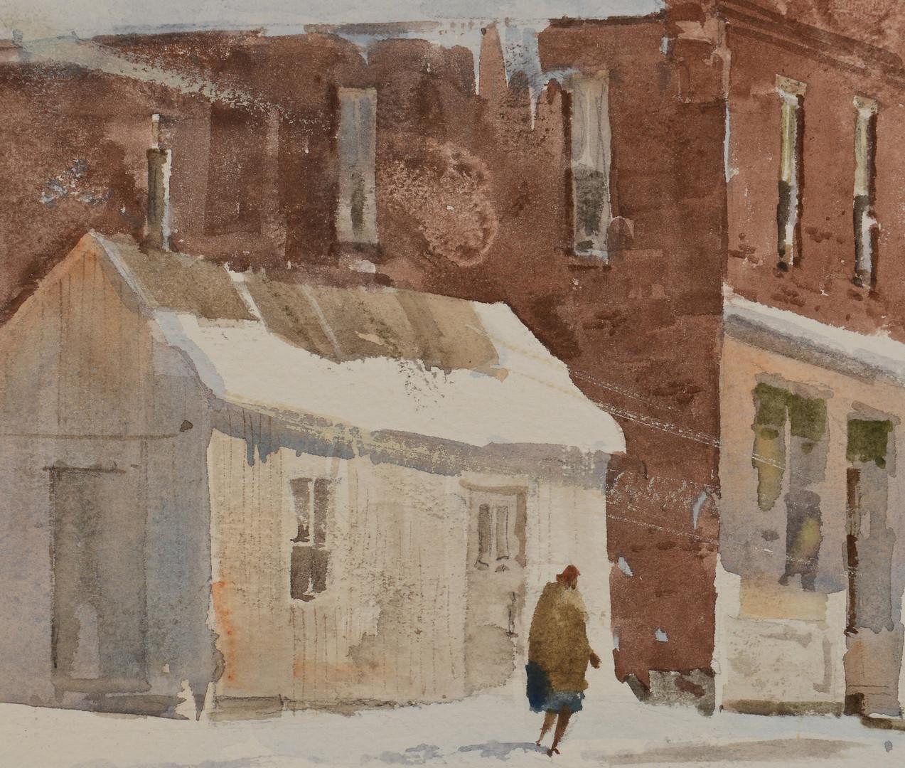 Lot 434: Lowell Ellsworth Smith w/c, Western Landscape